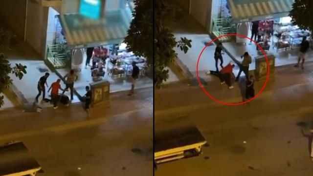 Antalya'da taciz edilen kadın yardım isteyince...