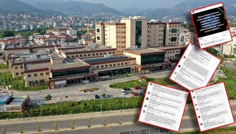 Alanya EA Hastanesi'ne tepki yağdı