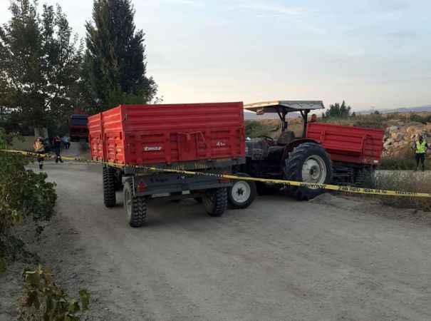 Feci traktör kazasında 1 kişi yaşamını kaybetti