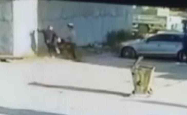 Dehşet! Kız kardeşinin videosunda gördüğü öğrenciyi tekme tokat dövdü
