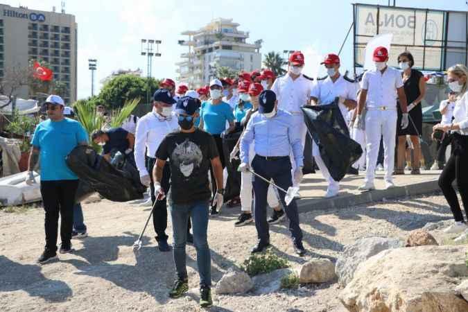 Kıyı temizliği etkinliği  yapıldı