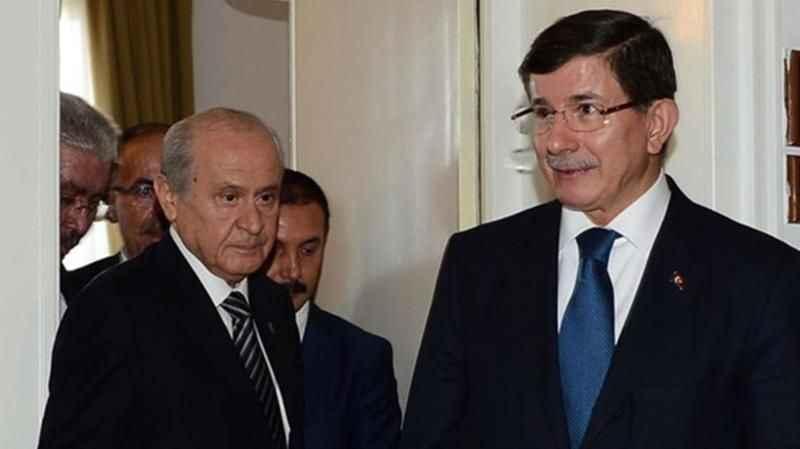 """Devlet Bahçeli, Davutoğlu'na ateş püskürdü! """"Haddini bil, haysiyet sahibi ol"""""""