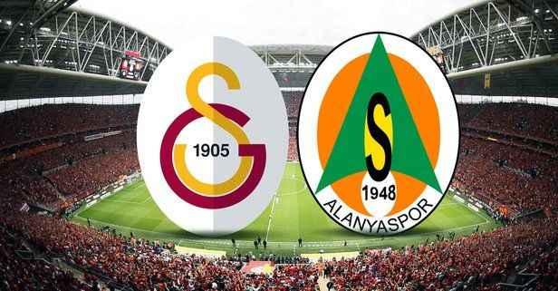 Galatasaray - Alanyaspor maçında 11'ler belli oldu
