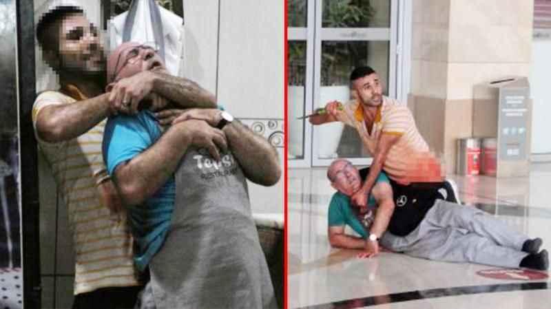 Antalya'da dehşet! Gözü dönmüş garson, rehin aldığı ustasının boğazını kesti