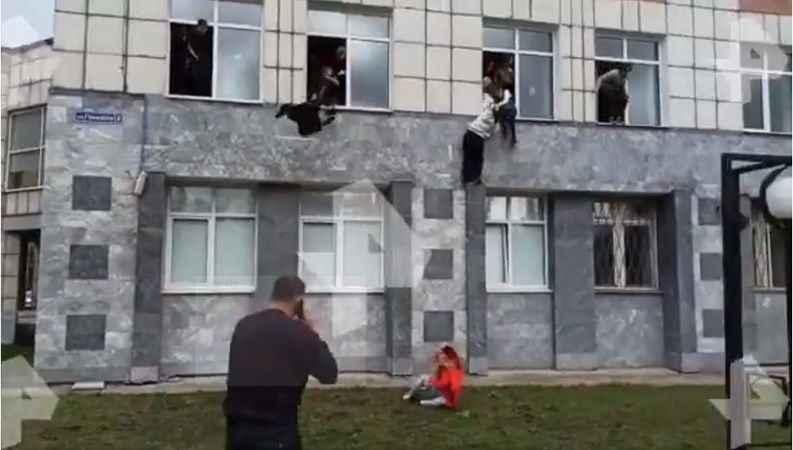 Korkunç görüntüler! Bir üniversiteye ateş açıldı: Ölü ve yaralılar var