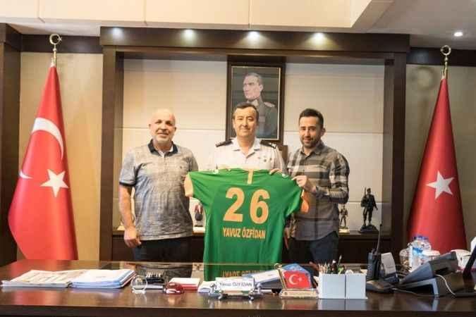 Başkan Çavuşoğlu'ndan Tuğgeneral Özfidan'a ziyaret