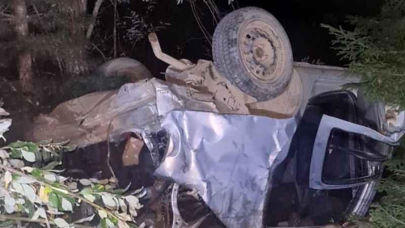 Feci kaza! Aracıyla 50 metrelik uçuruma düştü