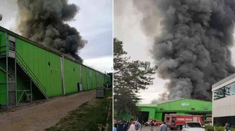 Son Dakika: Bir fabrikada yangın çıktı! Olay yerine itfaiye ekipleri sevk edildi