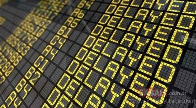 AnadoluJet 4 saat rötar yaptı, saatlerce bekleyen yolcular isyan etti!