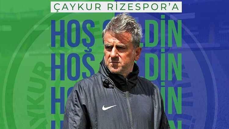 Hamza Hamzaoğlu, Çaykur Rizespor'un yeni hocası oldu