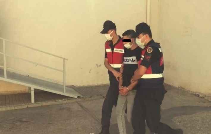 Firari uyuşturucu taciri, Antalya'da bir bağ evinde yakalandı!