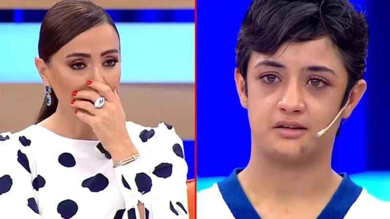 Canlı yayında anlattıklarına sunucu bile dayanamadı! Türkiye gözyaşları içinde izledi