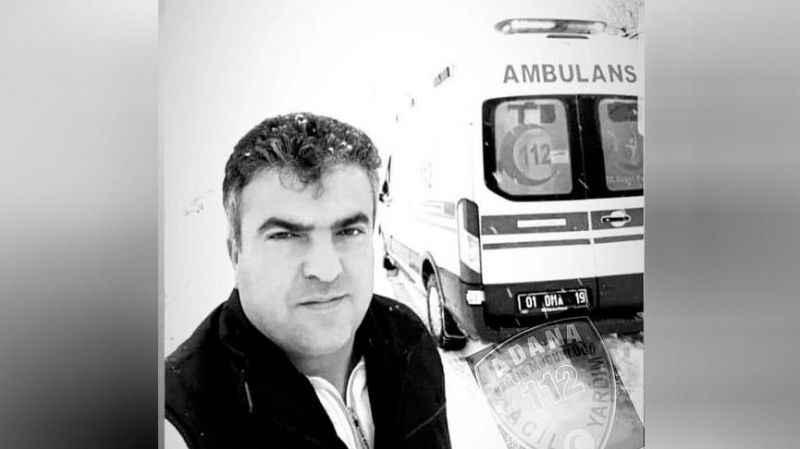 Ambulans şoförü korona kurbanı oldu!