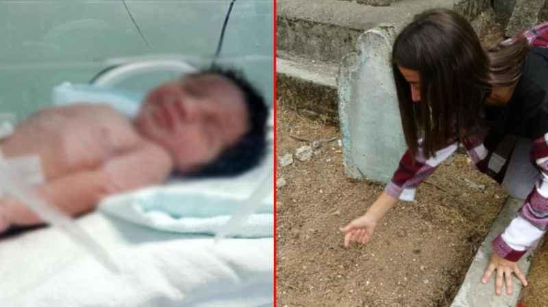 Canlı canlı gömülen bebek olayının akıbeti belli oldu! Annenin ifadesi kan dondurdu