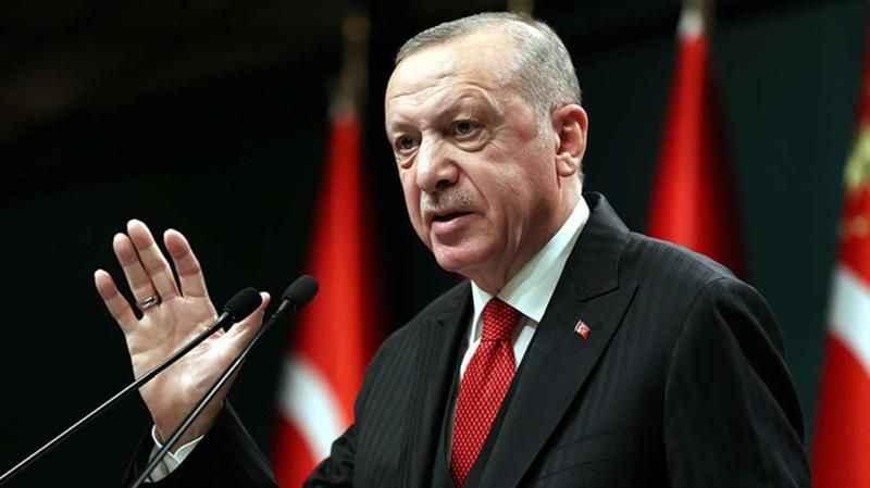 Cumhurbaşkanı Erdoğan'dan ABD'ye tepki! Terör örgütlerine silah yardımı yapıyorlar