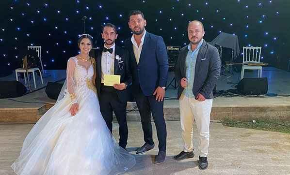 Antalya'da gelin ve damada bakın ne taktılar! Düğünde herkes şaşırdı