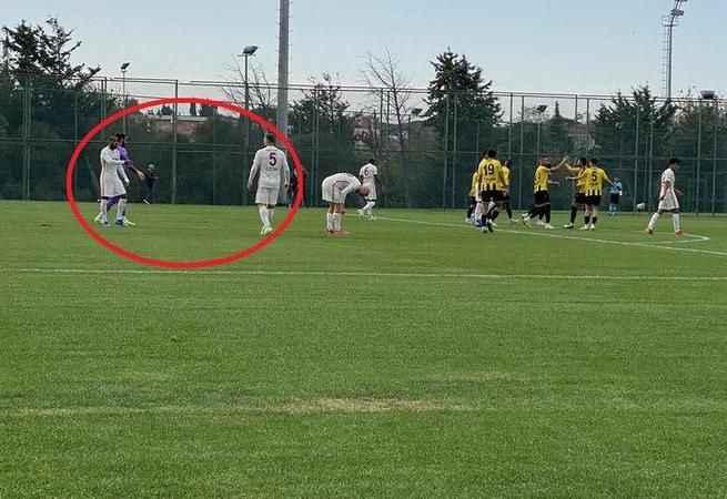 Marcao'dan maçta yeni skandal!