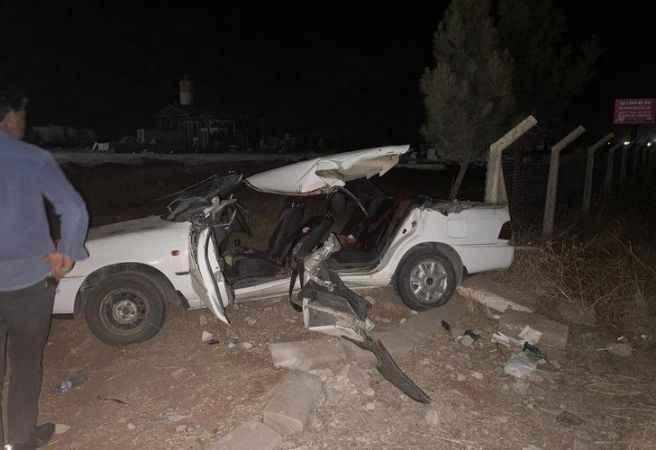 Korkunç kaza! Otomobilin tavanı koptu: 2 ölü, 6 yaralı