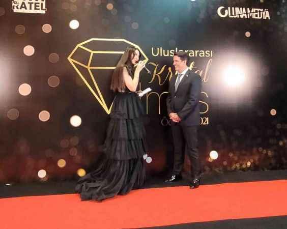 Kristal Elmas ödülü Antalya'ya