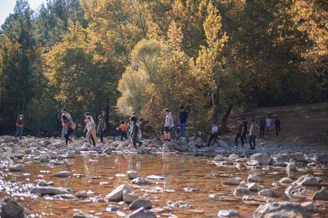 Akseki MYO öğrencileri doğa yürüyüşüne katıldı
