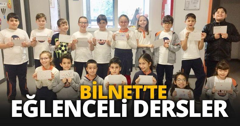 BİLNET'te eğlenceli dersler