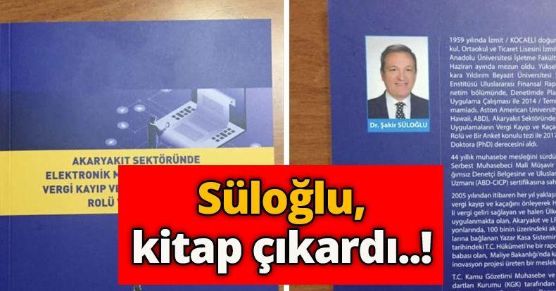 Süloğlu, kitap çıkardı..!