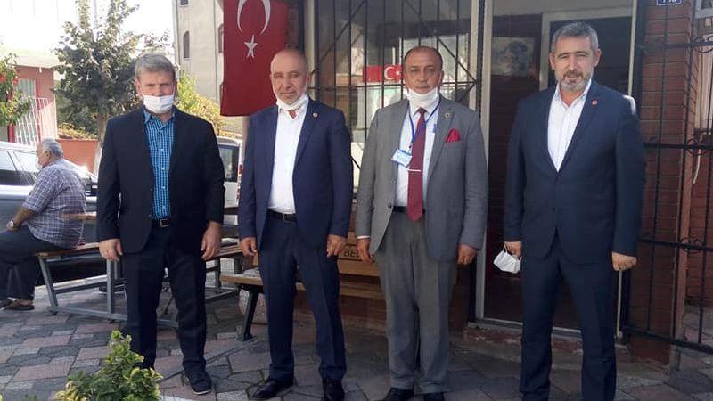 Saadet Körfez Sarıdoğan'la sahada