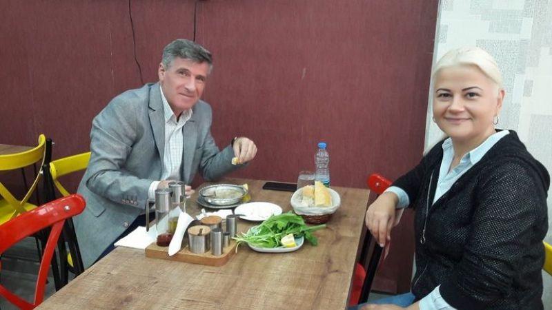 Süleyman Akyüz'den destek ziyareti