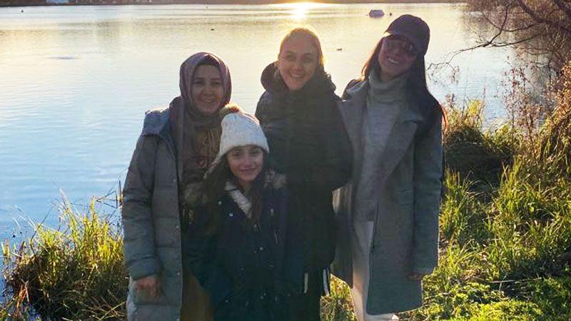 Körfezli aile İngiltere'de KALDI