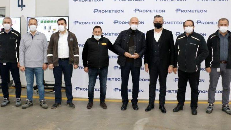 Prometeon Türkiye'de emekli olan çalışanlar törenle uğurlandı