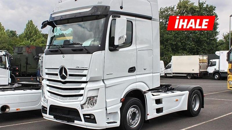 2014 model Mercedes çekici, 460 bin TL