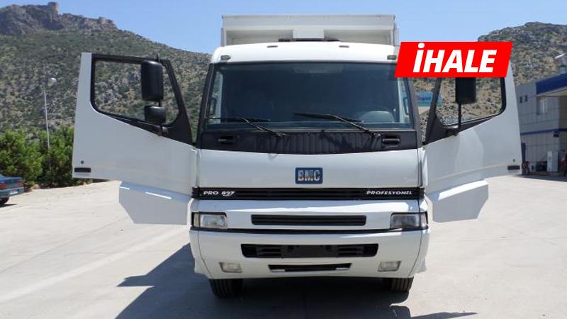 2012 model BMC kamyonet icradan satılıyor