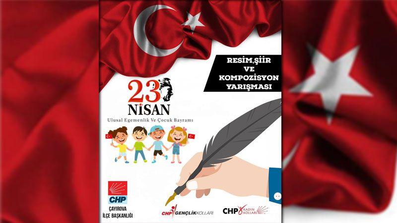 CHP Çayırova'dan 23 Nisan yarışması