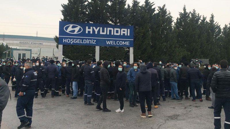 Hyundai'de direniş BÜYÜYOR