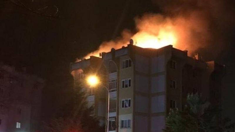 Yaşadıkları evi yaktı