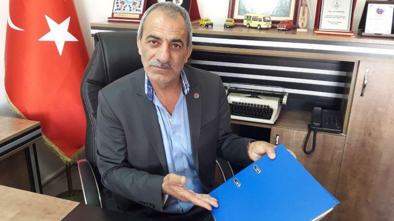 """Karadeniz, """"KOSGEB destek paketinde şoför esnafı yok"""""""