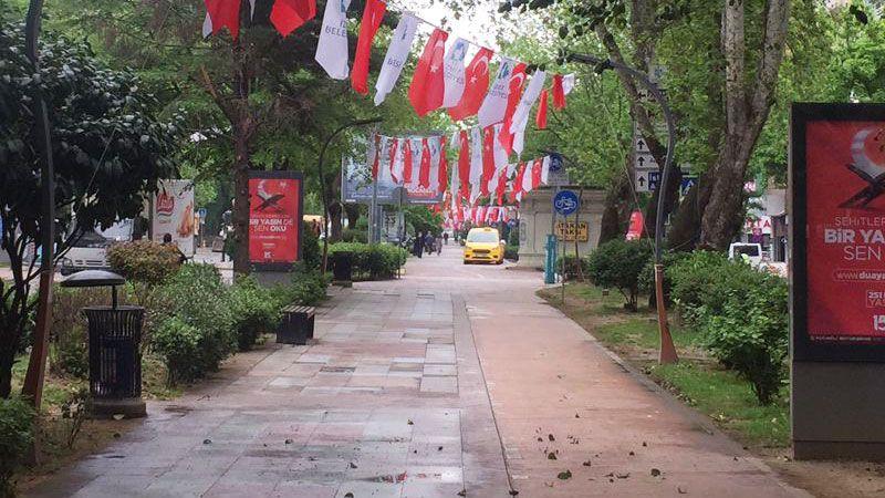 Tam kapanmada İzmit sokakları boş kaldı