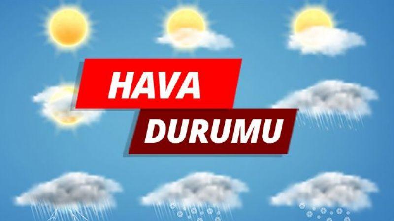 Bugün ve yarın güneş, Pazar yağmur geliyor