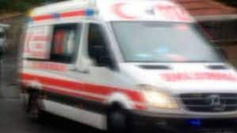 Bisikletli sürücü ağır yaralandı
