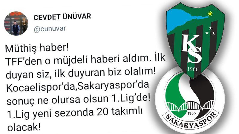 Cevdet Ünüvar'dan flaş iddia