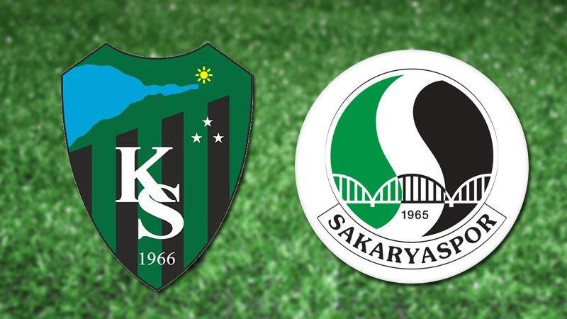 Kocaelispor-Sakaryaspor finali İstanbul'da