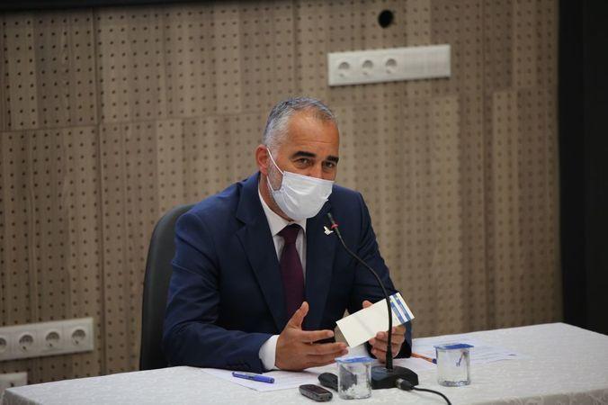 Karamürsel'de meclis toplantısı yapıldı
