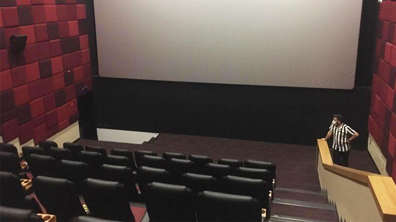 Sinema salonları tekrar kapatıldı