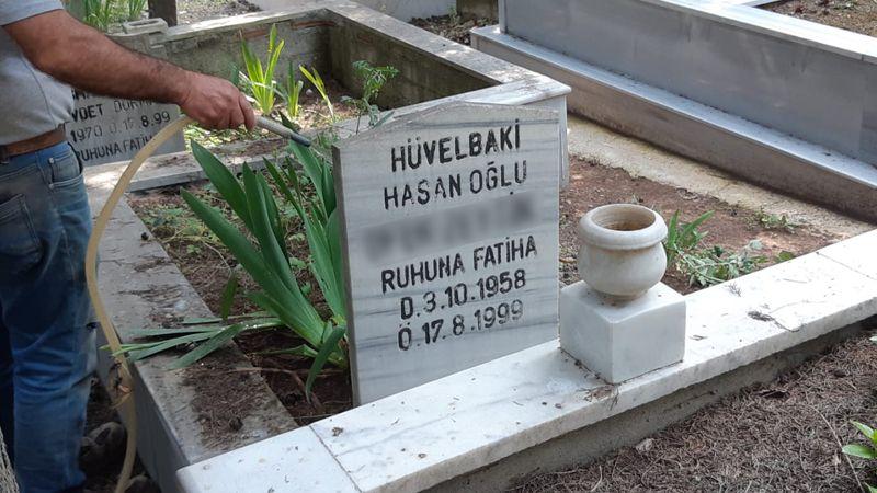 Mezarı açıldı