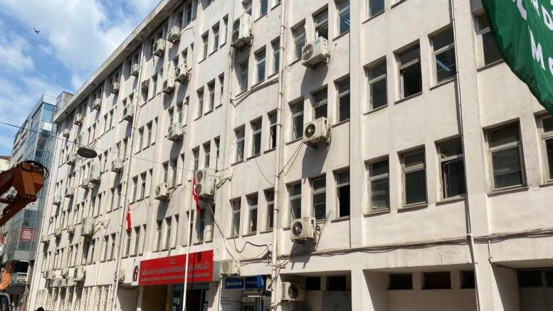 Vergi Dairesi binası katlı otopark oluyor