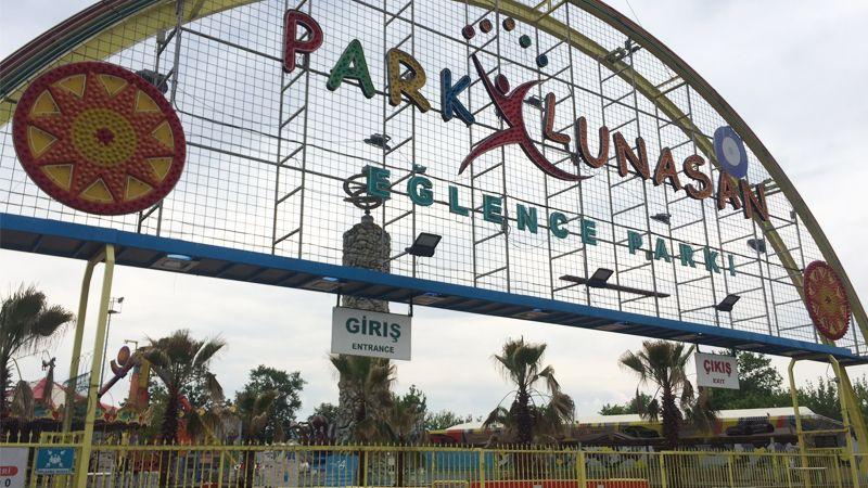 Lunapark açıldı