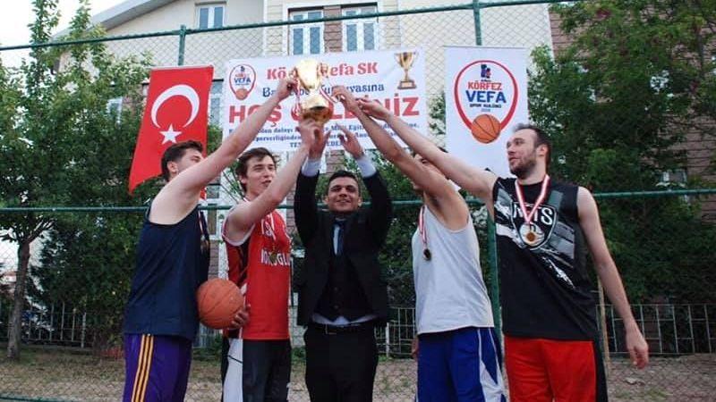 Turnuva birincisi Bolu'dan