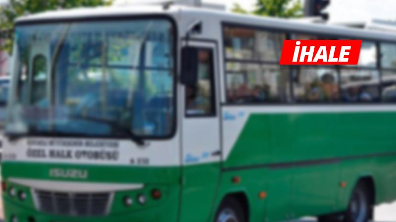 Minibüs hattı icradan satılıyor