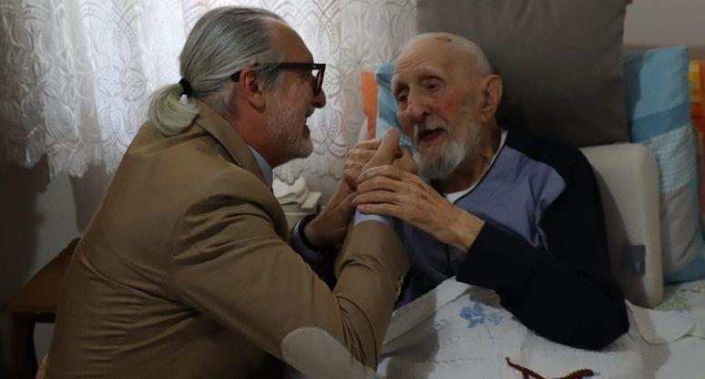 İzmit'in en yaşlı babası unutulmadı