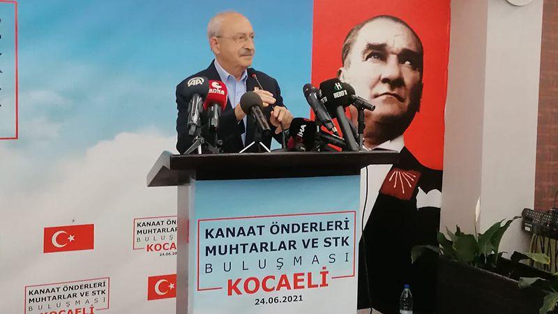 Kılıçdaroğlu Kocaeli'de